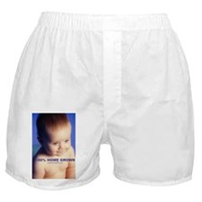 100% home grown (baby) Boxer Shorts