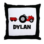 Tractor - Dylan Throw Pillow