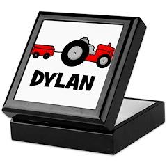 Tractor - Dylan Keepsake Box