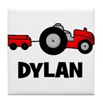 Tractor - Dylan Tile Coaster