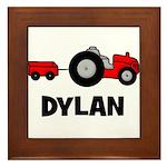 Tractor - Dylan Framed Tile