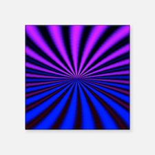 "Psychedelic 18 Square Sticker 3"" x 3"""