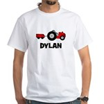 Tractor - Dylan White T-Shirt
