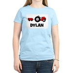 Tractor - Dylan Women's Pink T-Shirt