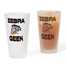 ZEBRA971 Drinking Glass