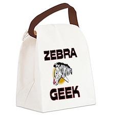 ZEBRA971 Canvas Lunch Bag