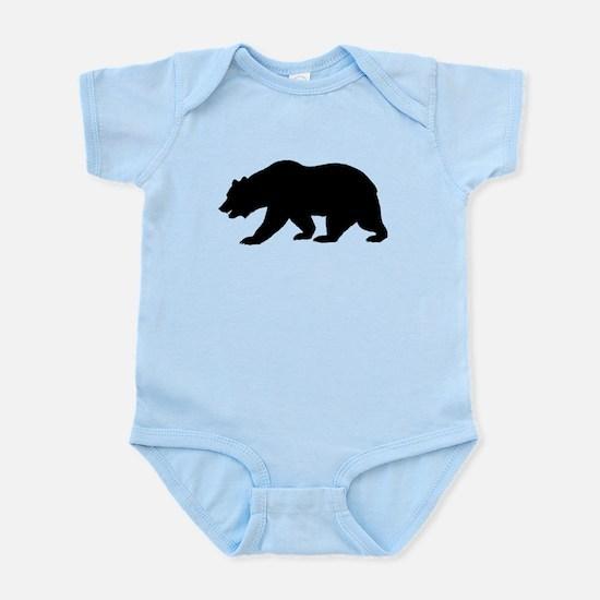Black California Bear Body Suit