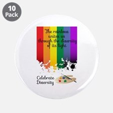 "Celebrate Diversity 3.5"" Button (10 pack)"