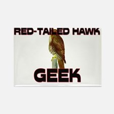 RED-TAILED-HAWK143101 Rectangle Magnet