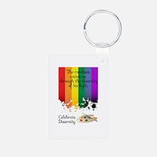 Celebrate Diversity Keychains