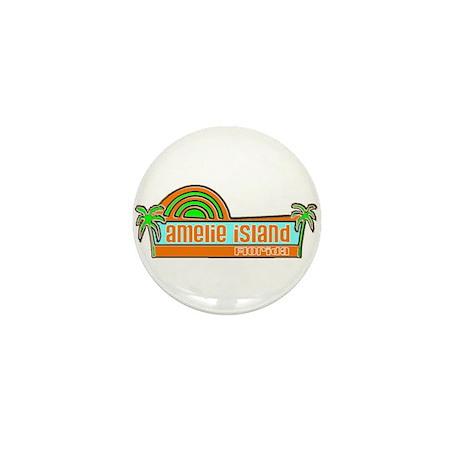 Amelie Island, Florida Mini Button