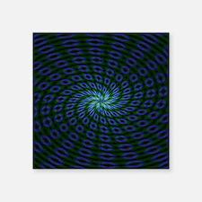 "Psychedelic 22 Square Sticker 3"" x 3"""