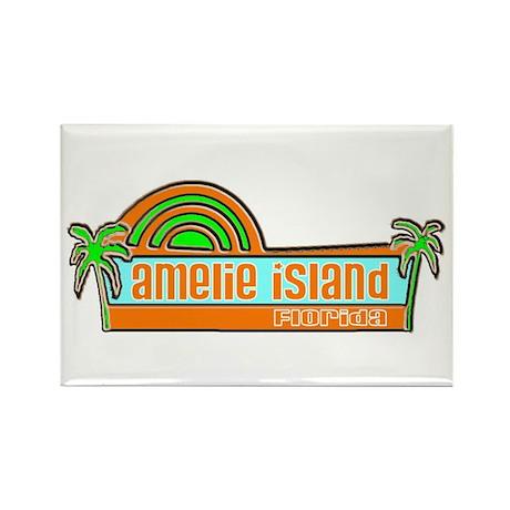 Amelie Island, Florida Rectangle Magnet (100 pack)