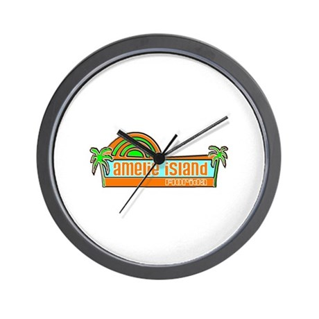 Amelie Island, Florida Wall Clock