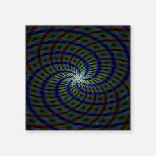 "Psychedelic 23 Square Sticker 3"" x 3"""