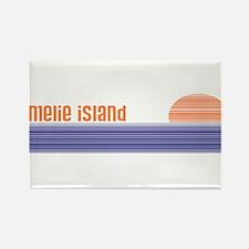 Amelie Island, Florida Rectangle Magnet