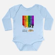 Celebrate Diversity Long Sleeve Infant Bodysuit