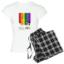 Celebrate Diversity pajamas
