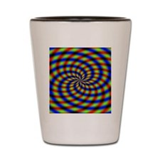 Psychedelic 1 Shot Glass