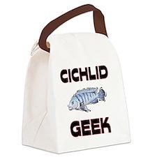 CICHLID129169 Canvas Lunch Bag