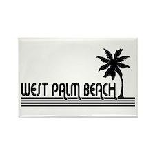 West Palm Beach, Florida Rectangle Magnet