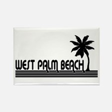 West Palm Beach, Florida Rectangle Magnet