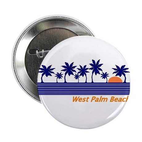 "West Palm Beach, Florida 2.25"" Button (100 pack)"