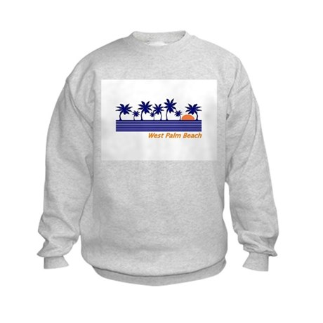 West Palm Beach, Florida Kids Sweatshirt