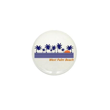 West Palm Beach, Florida Mini Button (100 pack)