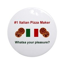 Italian Pizza Maker Keepsake Ornament
