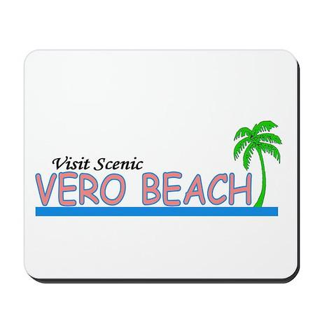 Visit Scenic Vero Beach, Flor Mousepad