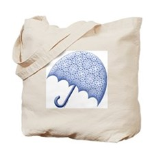 Blue Baby Shower Tote Bag