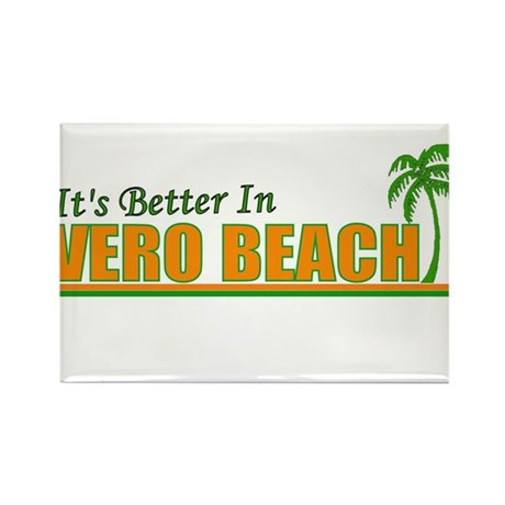 It's Better In Vero Beach, Fl Rectangle Magnet (10