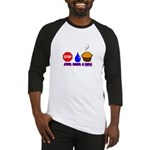 Stop Drop And Roll Baseball Jersey