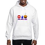 Stop Drop And Roll Hooded Sweatshirt