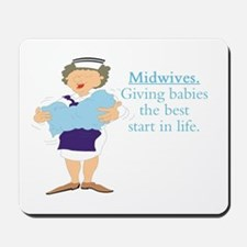 Midwife gift Mousepad
