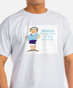 Midwife gift T-Shirt