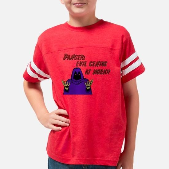 evil genius Youth Football Shirt