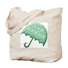 Green Baby Shower Tote Bag