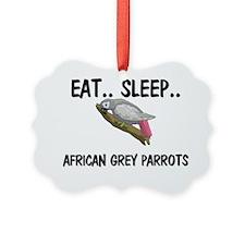 AFRICAN-GREY-PARROTS31243 Ornament