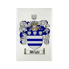 Wright Coat of Arms Crest Rectangle Magnet