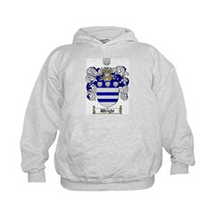 Wright Coat of Arms Crest Hoodie