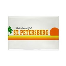 Visit Beautiful St. Petersbur Rectangle Magnet