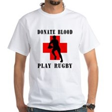 Donate Blood Play Rugby Shirt