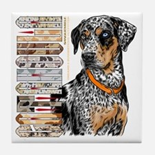 Catahoula Tile Coaster
