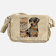 Catahoula Messenger Bag