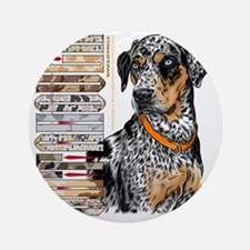 Catahoula Round Ornament