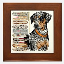 Catahoula Framed Tile