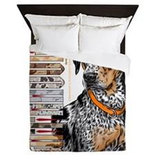 Catahoula Queen Duvet