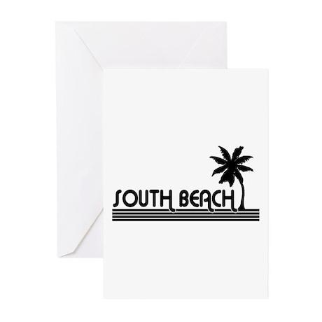 South Beach, Florida Greeting Cards (Pk of 10)